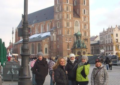 13. .. a po odpoczynku spacer po krakowskim Rynku